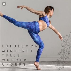 Lululemon Midnight Tulle Blue